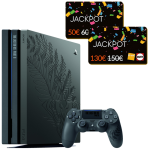 PS4 PRO edition limitée collector the last of us 2 cartes jackpot fnac