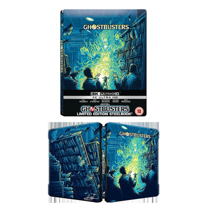 SOS fantome steelbook 4k blu ray