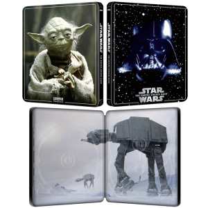 Star Wars 5 L'Empire Contre Attaque en Blu Ray 4K steelbookv v2