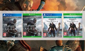 assassin's creed valhalla éditions exclusives micromania