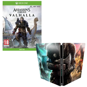 assassin's creed valhalla steelbook XBOX ONE