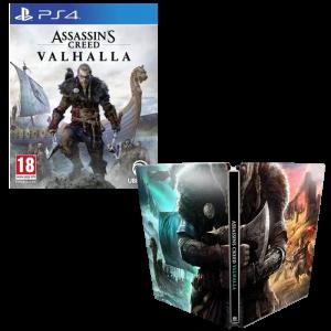 assassin's creed valhalla steelbook ps4