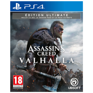 assassin's creed valhalla ultimate ps4 visuel produit