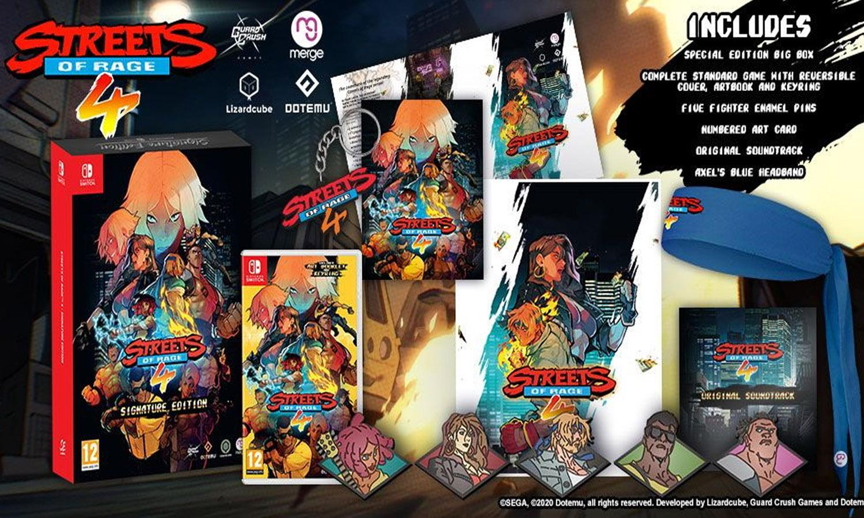 Limited Run et compagnie, les jeux démat' qui sortent en boite :) - Page 17 Contenu-edition-signature-streets-of-rage-4-switch