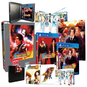 king of fighters 98 collector limited run games visuel produit