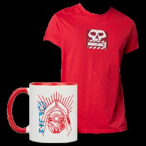lot borderlands t-shirt mug