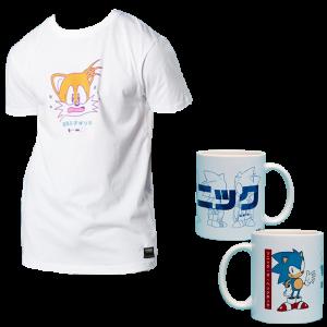 lot mug sonic t-shirt zavvi 11 09 20