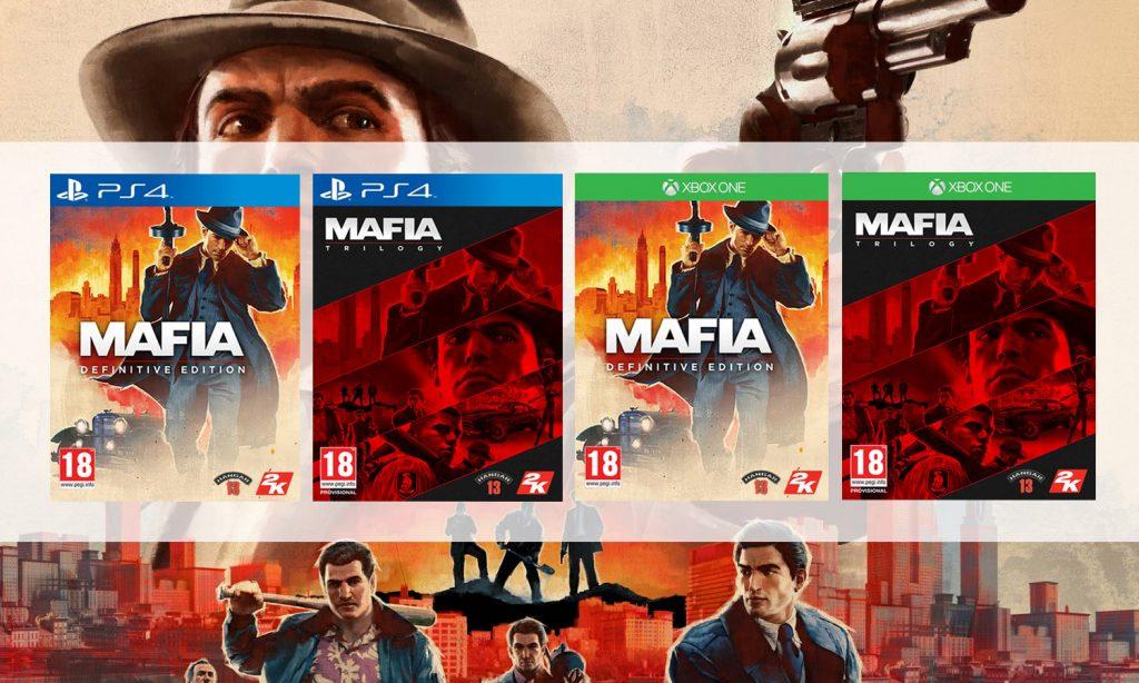 mafia trilogy version boîte slider offres