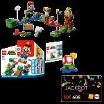 mario lego jackpot promo visuel produit