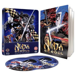 ninja scroll blu ray steelbook visuel produit