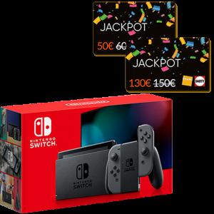 nouvelle switch standard grise cartes jackpot fnac 150 et 60