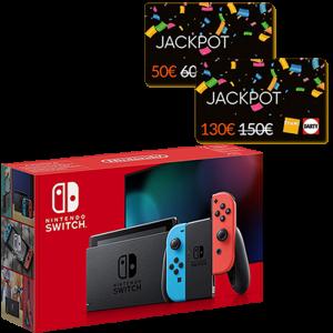 nouvelle switch standard neon cartes jackpot fnac 150 et 60