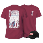 promo t shirt avec casquette ou bonnet marvel visuel produit