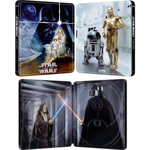 star wars 4 blu ray 4k steelbook un nouvel espoir a new hope