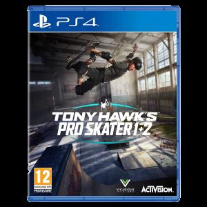 tony hawk pro skater 1 et 2 visuel produit ps4