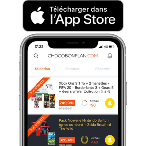 visuel produit lancement application app store version finale