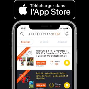 visuel produit lancement application app store version finale