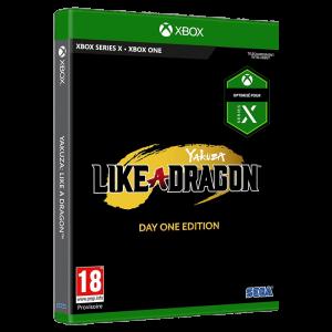 yakuza like a dragon edition limitée xbox one visuel produit