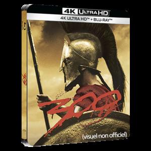 300 steelbook blu ray 4K visuel provisoire