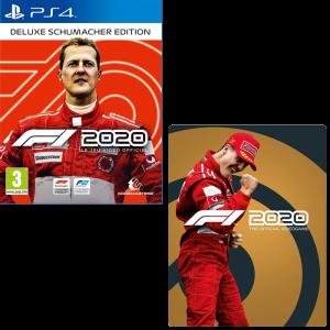 F1 2020 Deluxe Schumacher Edition steelbook PS4