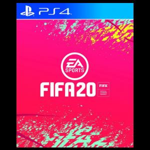 FIFA 20 dématérialisé playstation store visuel produit