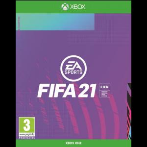 FIFA 21 jaquette provisoire xbox one edition champion