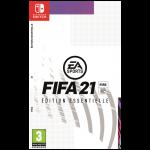 FIFA 21 switch jaquette provisoire edition essentielle