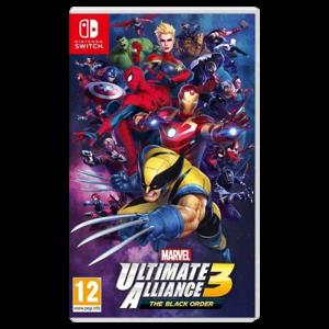MARVEL ultimate alliance 3 switch visuel produit