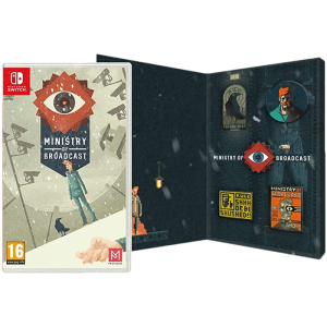Ministry of Broadcast Badge Collectors Edition switch visuel produit