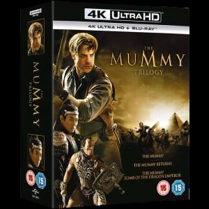 Trilogie La Momie en Blu Ray 4K + 2D