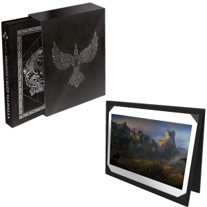 artbook The Art of Assassin's Creed Valhalla Deluxe Edition
