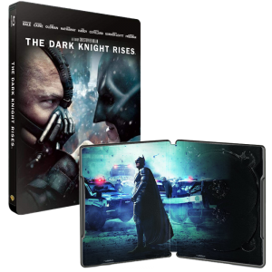 batman the dark knight rises blu ray steelbook
