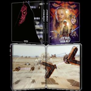 blu ray 4K steelbook star wars la menace fantômes visuel produit