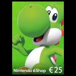 carte nintendo eshop 25 euros promo