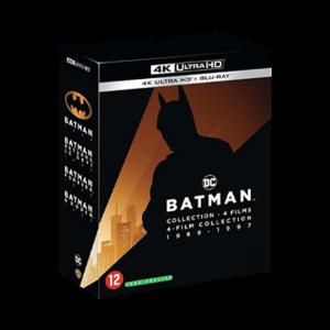 coffret blu ray 4k batman 4 films VISUEL PRODUIT