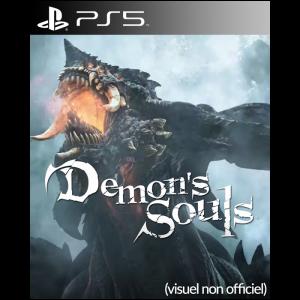 demon's souls ps5 jaquette visuel non officielle
