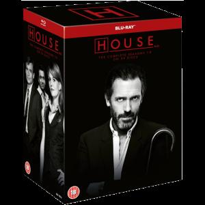 dr house intégrale de la série en blu ray