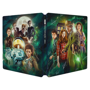 dr who steelbook saison 6 blu ray vo uniquement