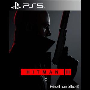 hitman 3 visuel produit provisoire ps5 jaquette