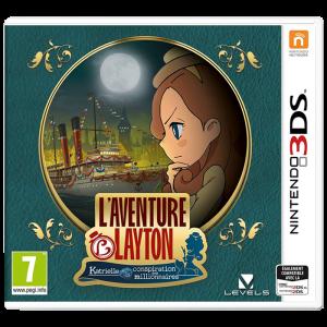 l'aventure layton 3DS visuel produit
