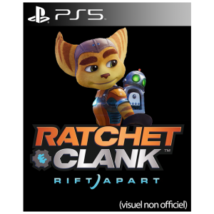 ratchet and clank rift apart visuel produit