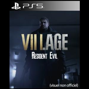 resident evil VIII Village jaquette ps5
