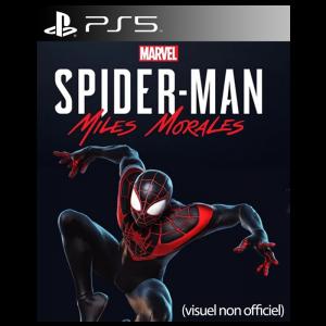spiderman miles morales jaquette provisoire ps5