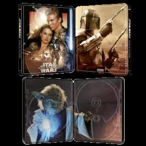star wars attaque des clones blu ray 4k steelbook visuel produit