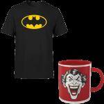 t-shirt et mug dc comics zavvi v2