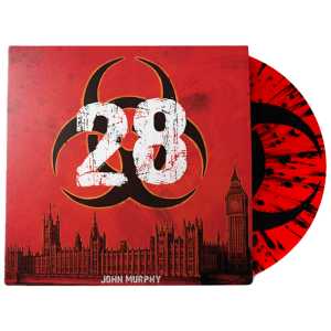 vinyle rouge 28 jours plus tard zavvi