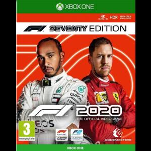 F1 2020 xbox one visuel produit