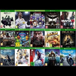 PROMO 15 jeux xbox one visuel produit