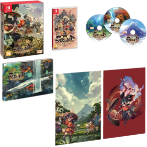 SAKUNA OF RICE AND RUIN GOLDEN HARVEST EDITION limitée switch visuel produit