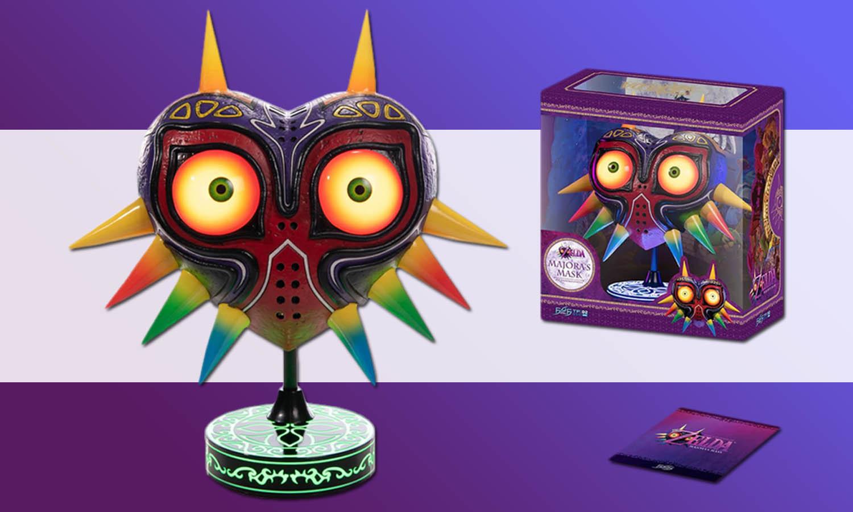 Figurine Majora's Mask The Legend of Zelda Edition Collector